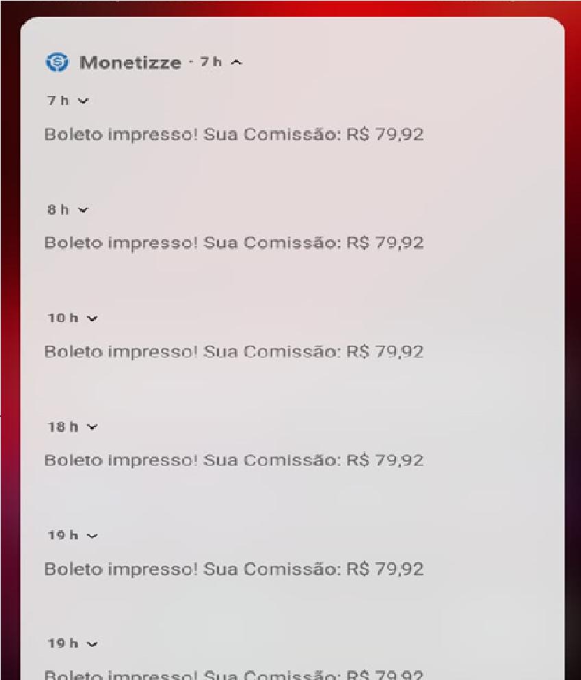 Meus Próprios Resultados do Celular-comNet Milionario